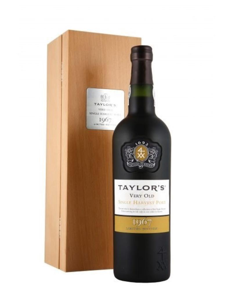 Port 1967, Taylor Fladgate Very Old Single Harvest Port, Port, Douro Valley, Oporto, Portugal, 20% Alc, CT94