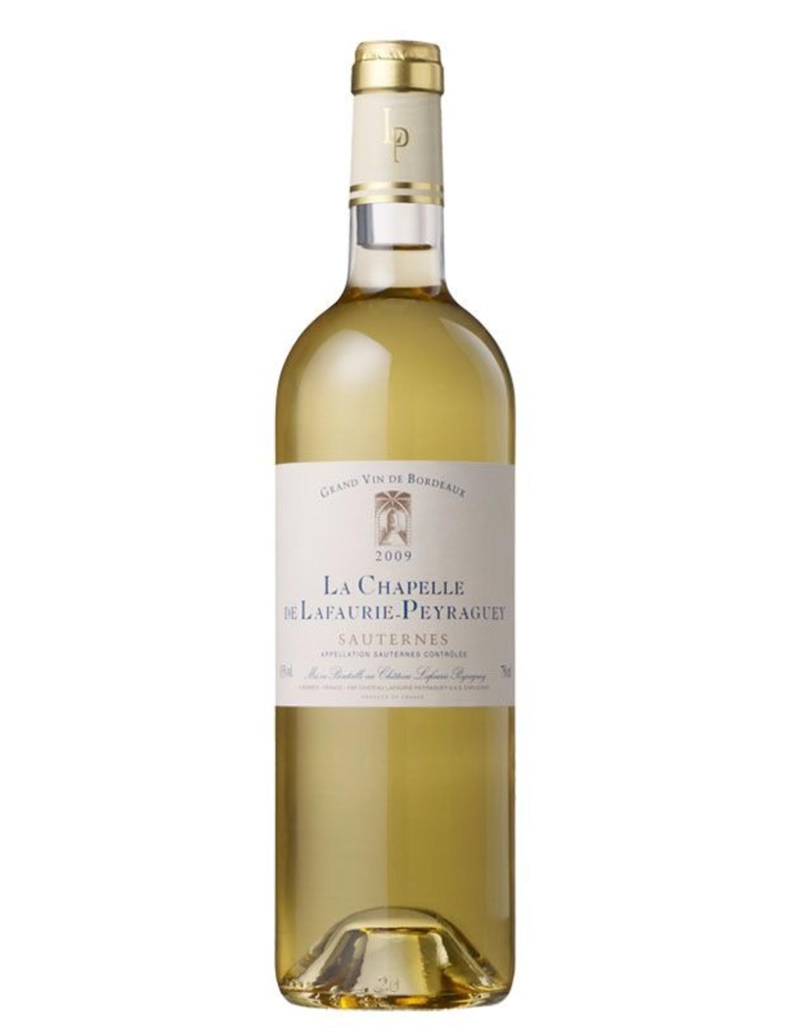 Desert Wine 2012, La Chapelle De Lafaurie-Peyraguey, Semillon-Sauvignon Blend, Sauternes, Bordeaux, France, 13% Alc, CTnr