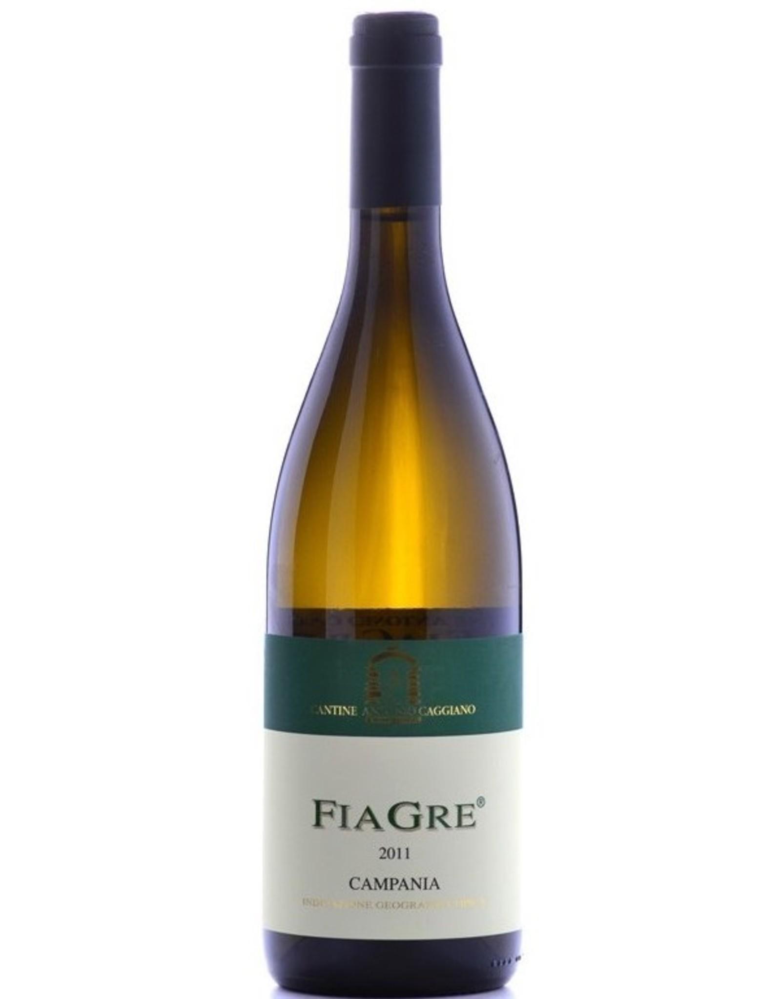 White Wine 2011, Antonio Caggiano FiaGre (Fiano & Greco), Rare White Blend, Campania IGT, Amalfi Coast, Italy, 13.5% Alc, CTnr, TW90