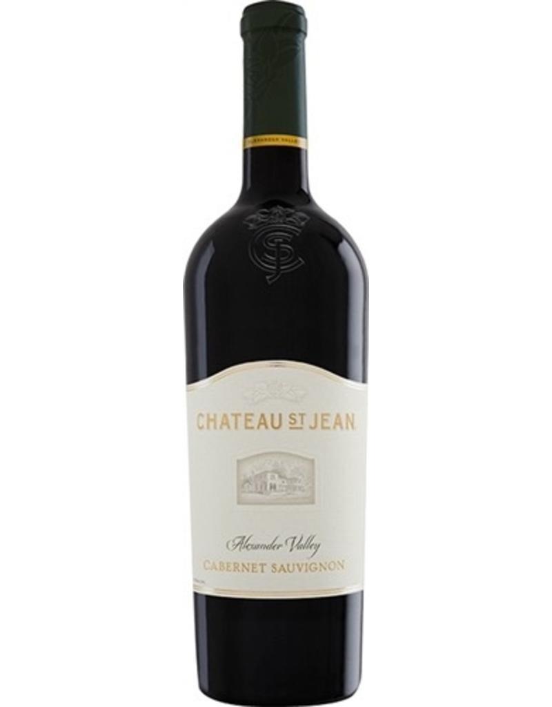 Red Wine 2011, Chateau St. Jean, Cabernet Sauvignon, Alexander Valley, Sonoma, California, 14.4% Alc, RP90 WS91