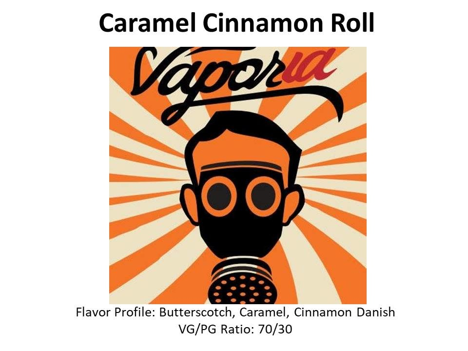 Caramel Cinnamon Roll