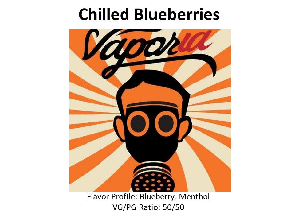 Chilled Blueberries