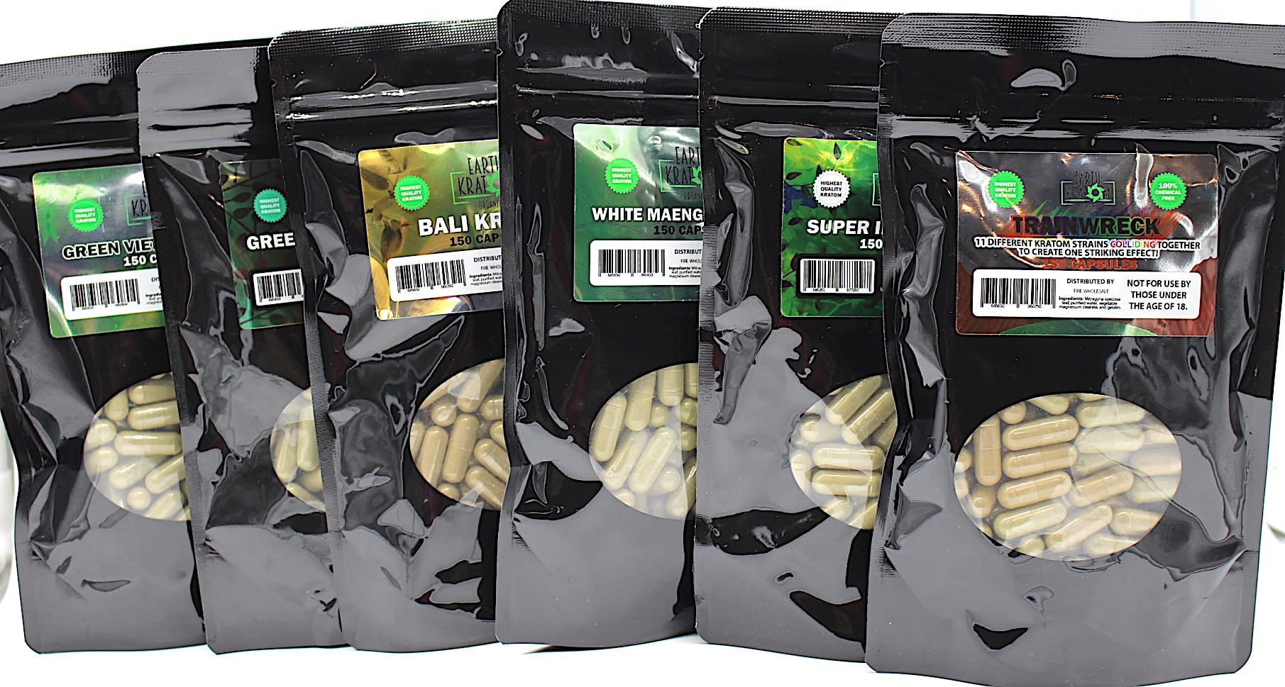 Earth Kratom Capsules