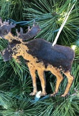 Metal Moose Ornament