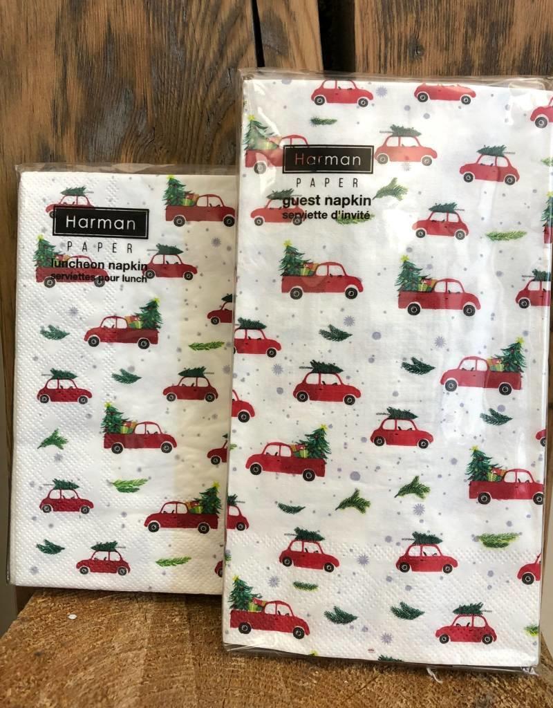 Christmas Truck Napkins