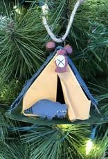 Camping Tent Ornament