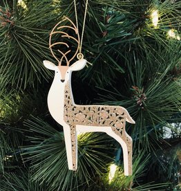 Filigree deer
