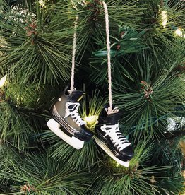Hockey Skate Ornaments 2.5""