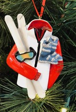 Ski Jacket with Gear Ornament