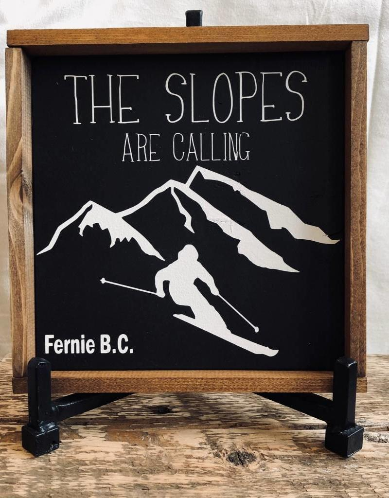 Slopes are Calling Skier