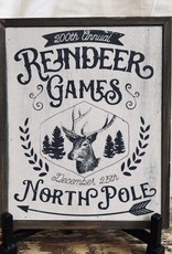 Reindeer Games Barn Block