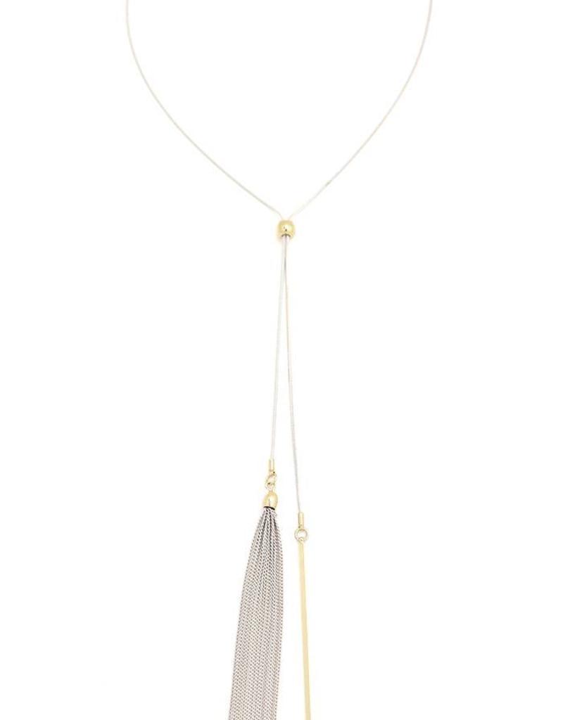 Nouvelle Necklace- White