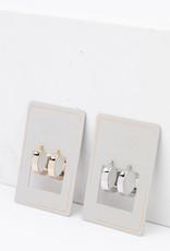 Chloe Hoop Earrings Gold