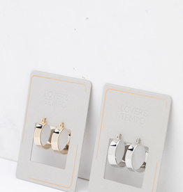 Chloe Hoop Earrings Gold