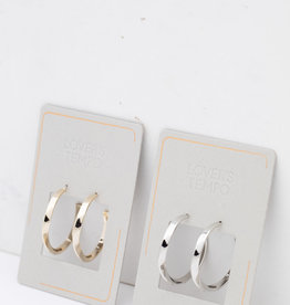 Taylor Twist Earrings SIlver