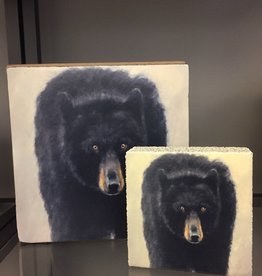 Black Bear LARGE square block