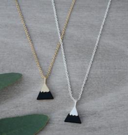 Peak Necklace Gold/Black