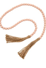 Tassel Prayer Beads/ Pink