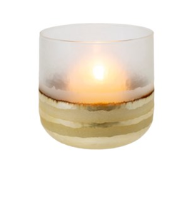 Echo votive large gold