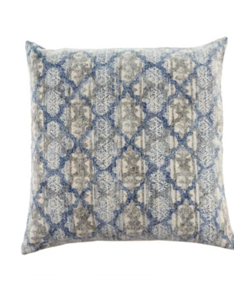 StoneWashed Woven Cushion/ 24 X 24