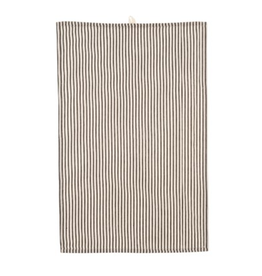 Black Ticking Teatowel