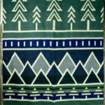 Colorado Blue/ Tree Line -Queen