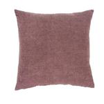 nala linen pillow plum