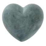 XL soapstone Heart Grey