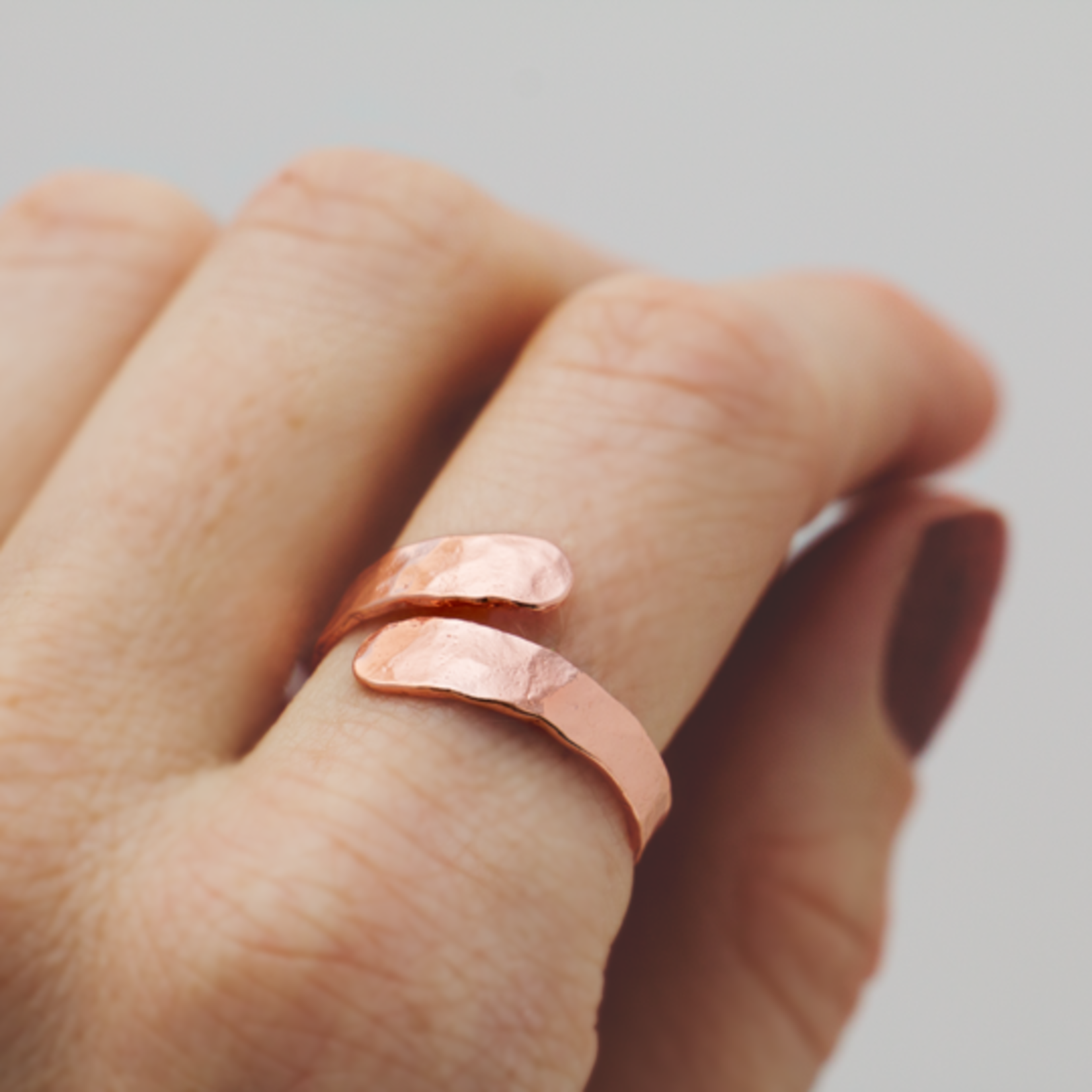 Amity Ring Rose Gold