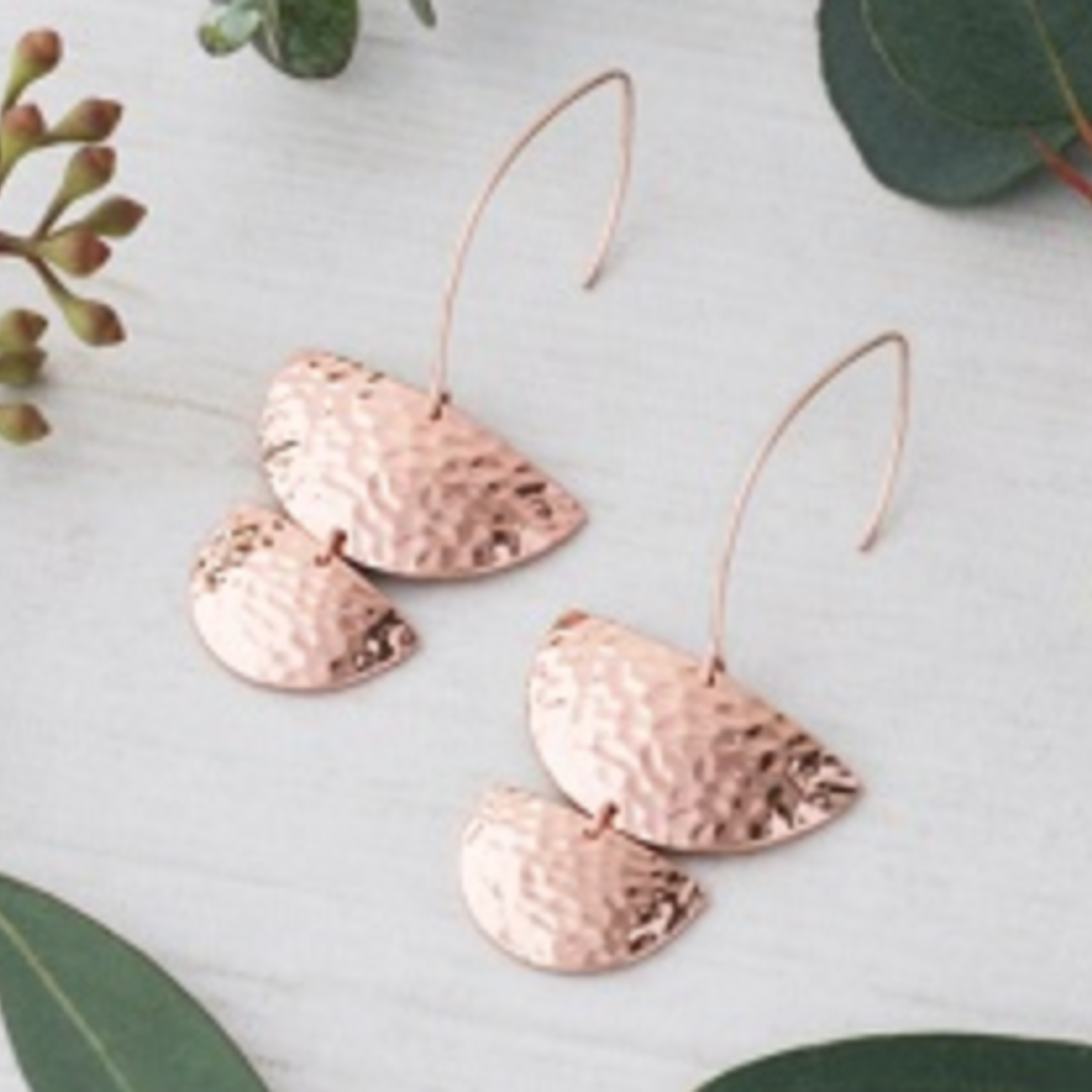 Bridget Earrings Rose Gold