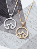 Whistler Pendant Necklace- Gold