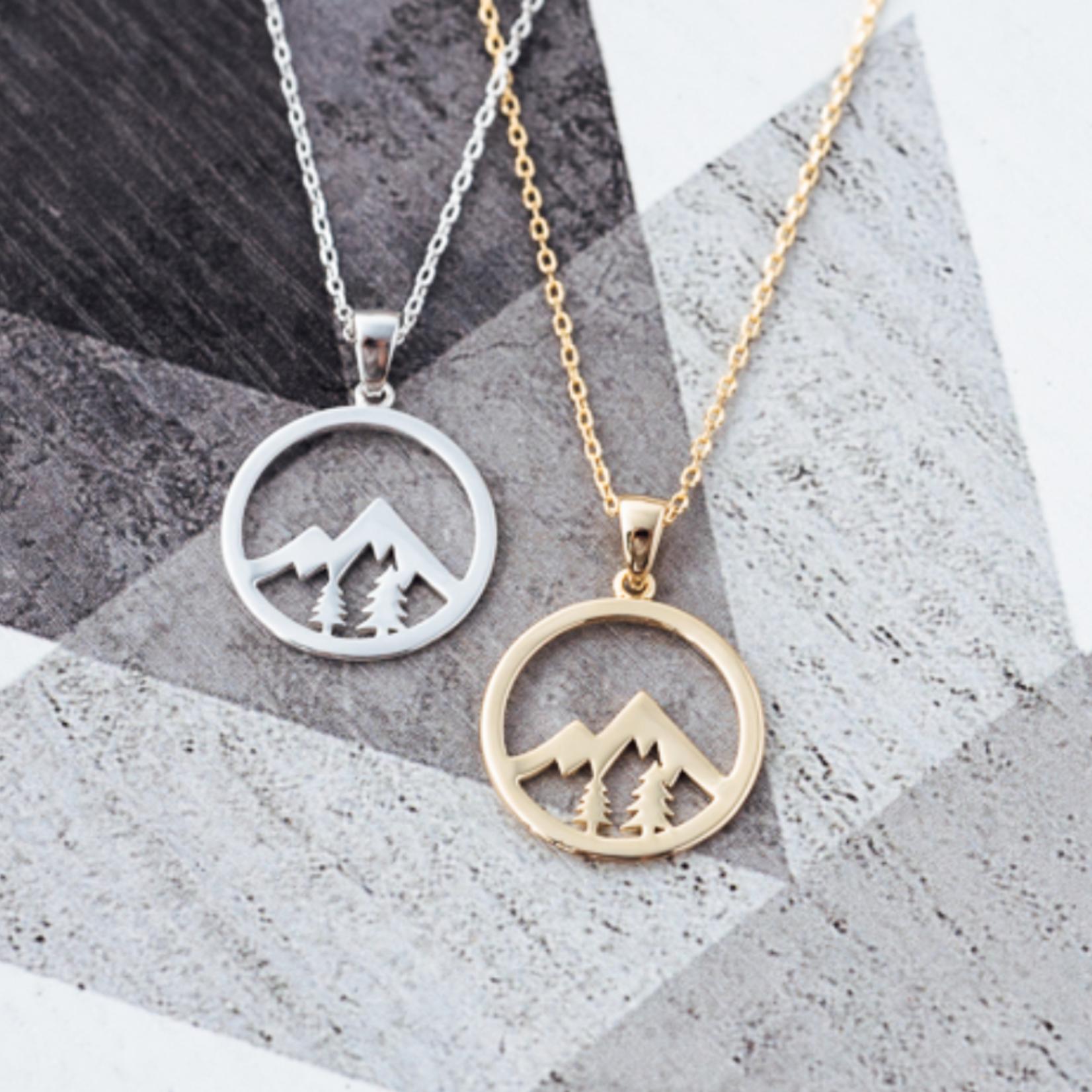 Whistler Pendant Necklace- Silver