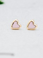 Cherish Stud - Gold Pink