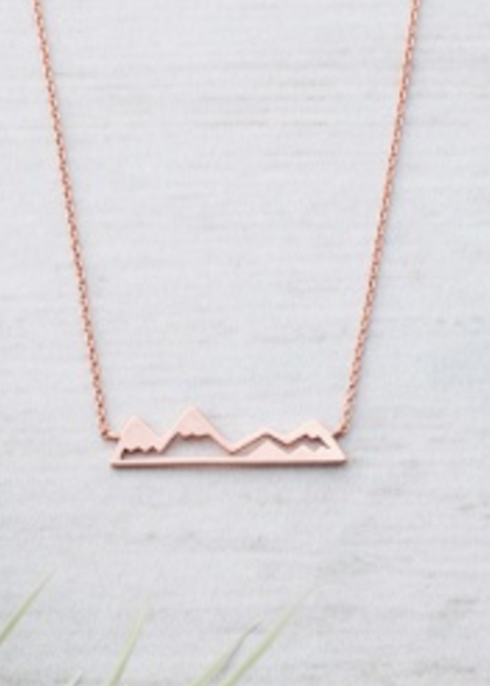 Glee Jewelry Olympic Necklace Rose Gold