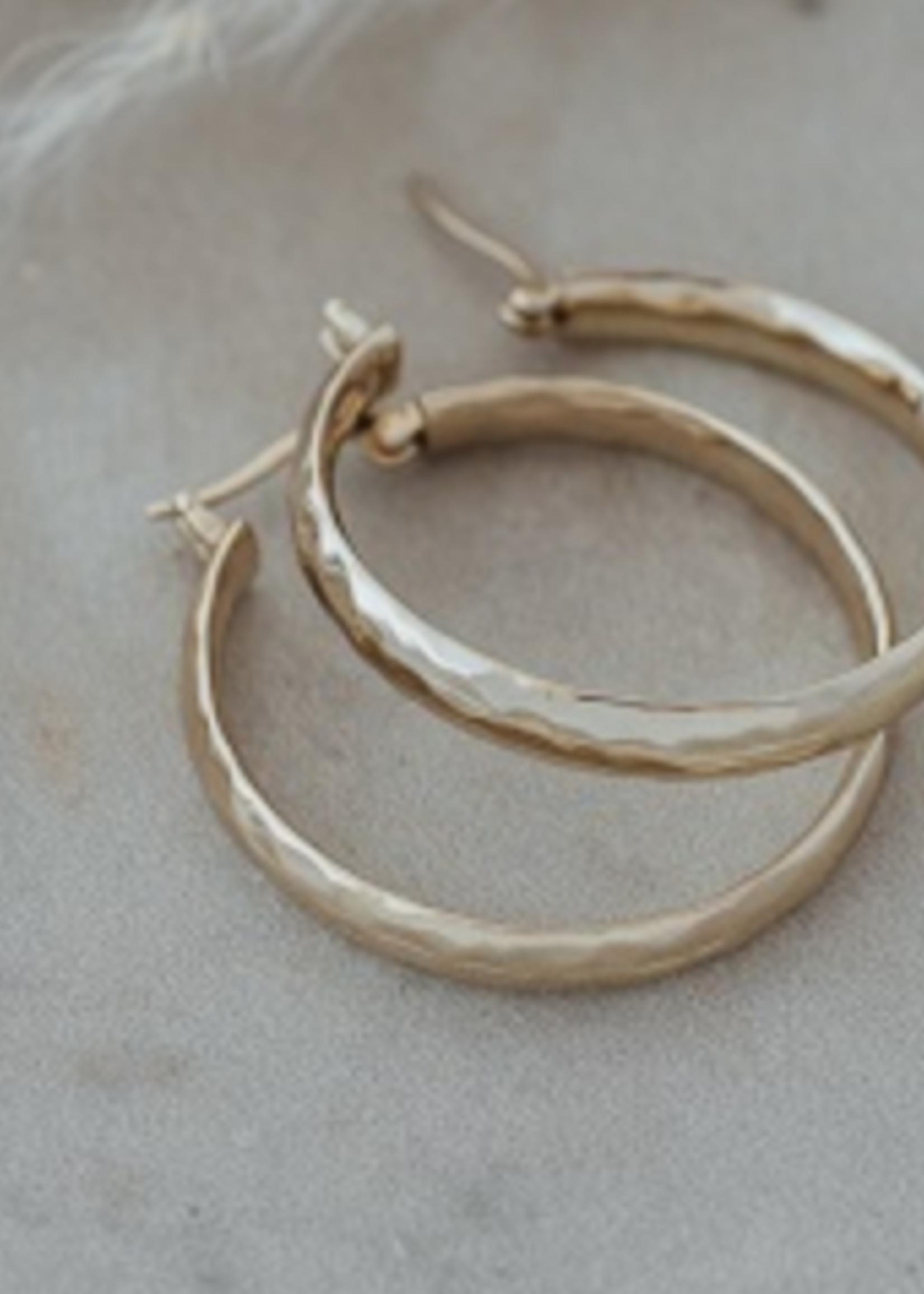 Stella Hoop Earring Gold