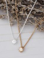 Starburst Necklace Gold