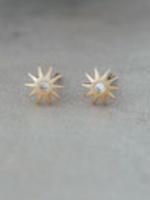 Starburst Earring Gold
