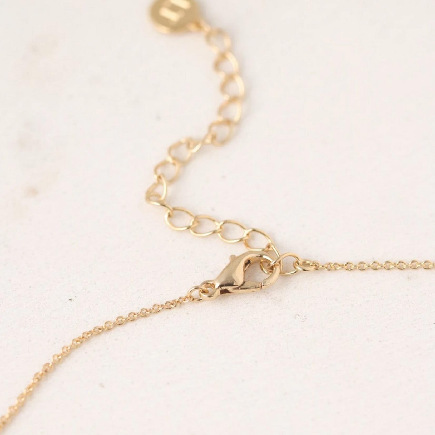 April Kaleidoscope Birthstone Necklace-Gold