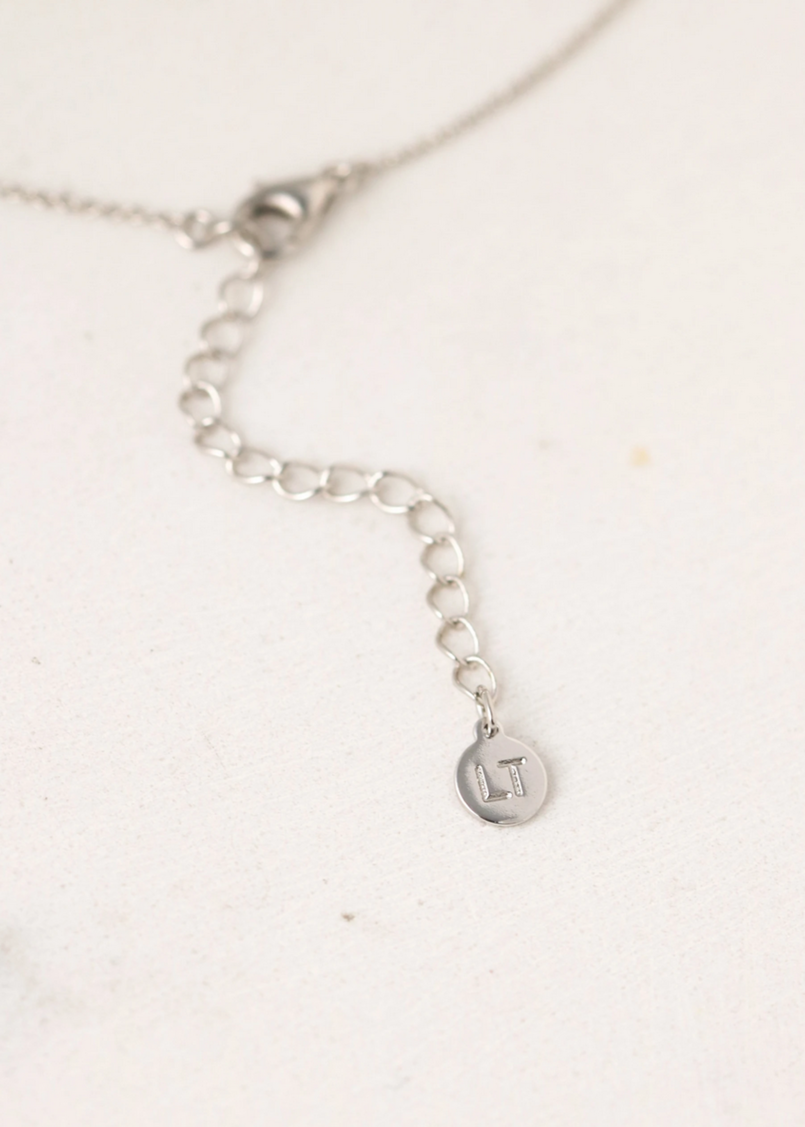 May Kaleidoscope Birthstone Necklace-Silver