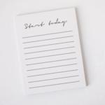 Start Today Notebook