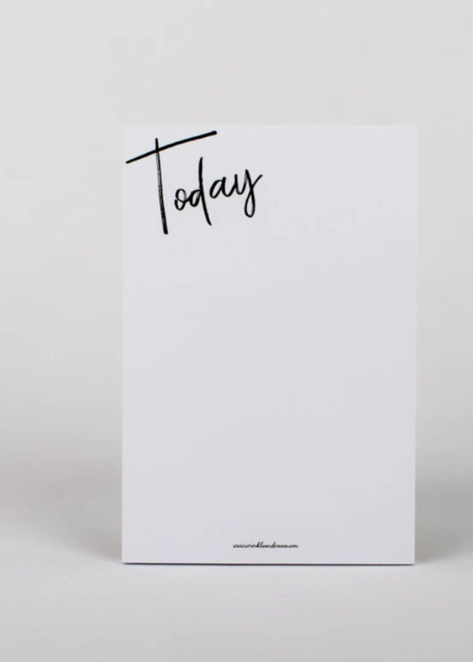 Wrinkle and Crease Today Note Pad