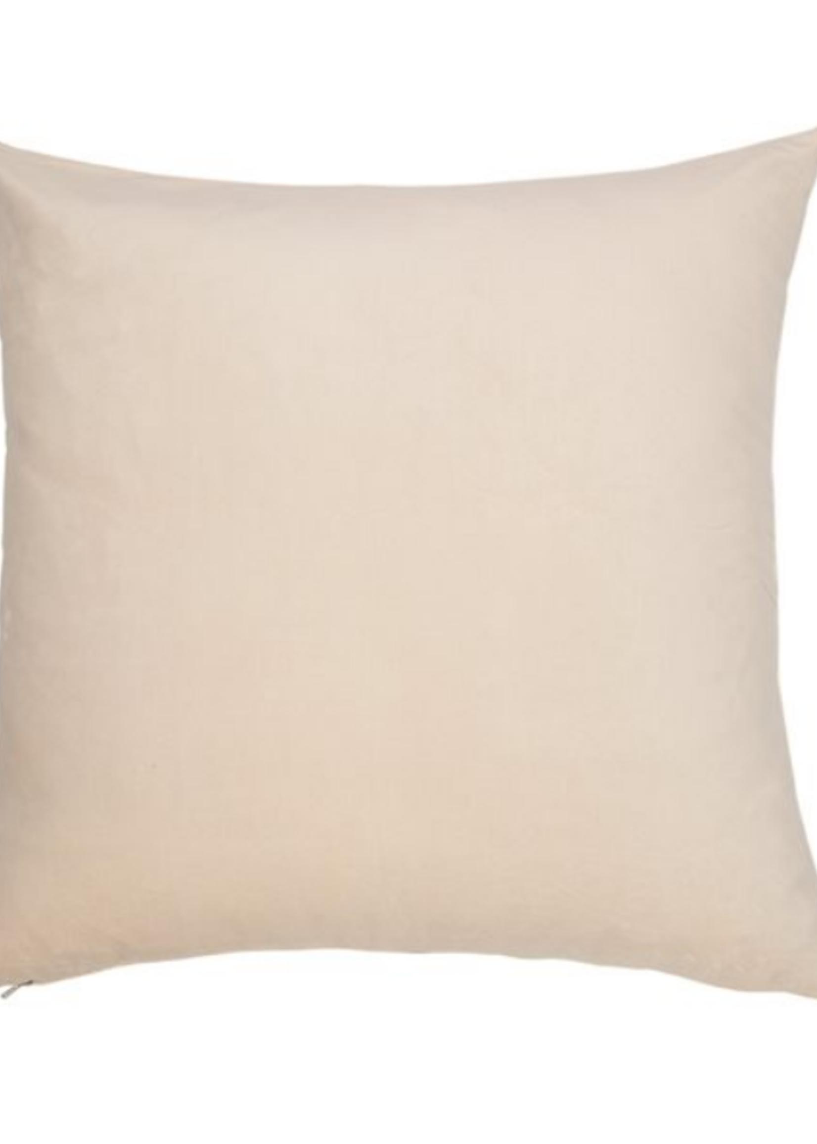 European Pillow Cream Velvet