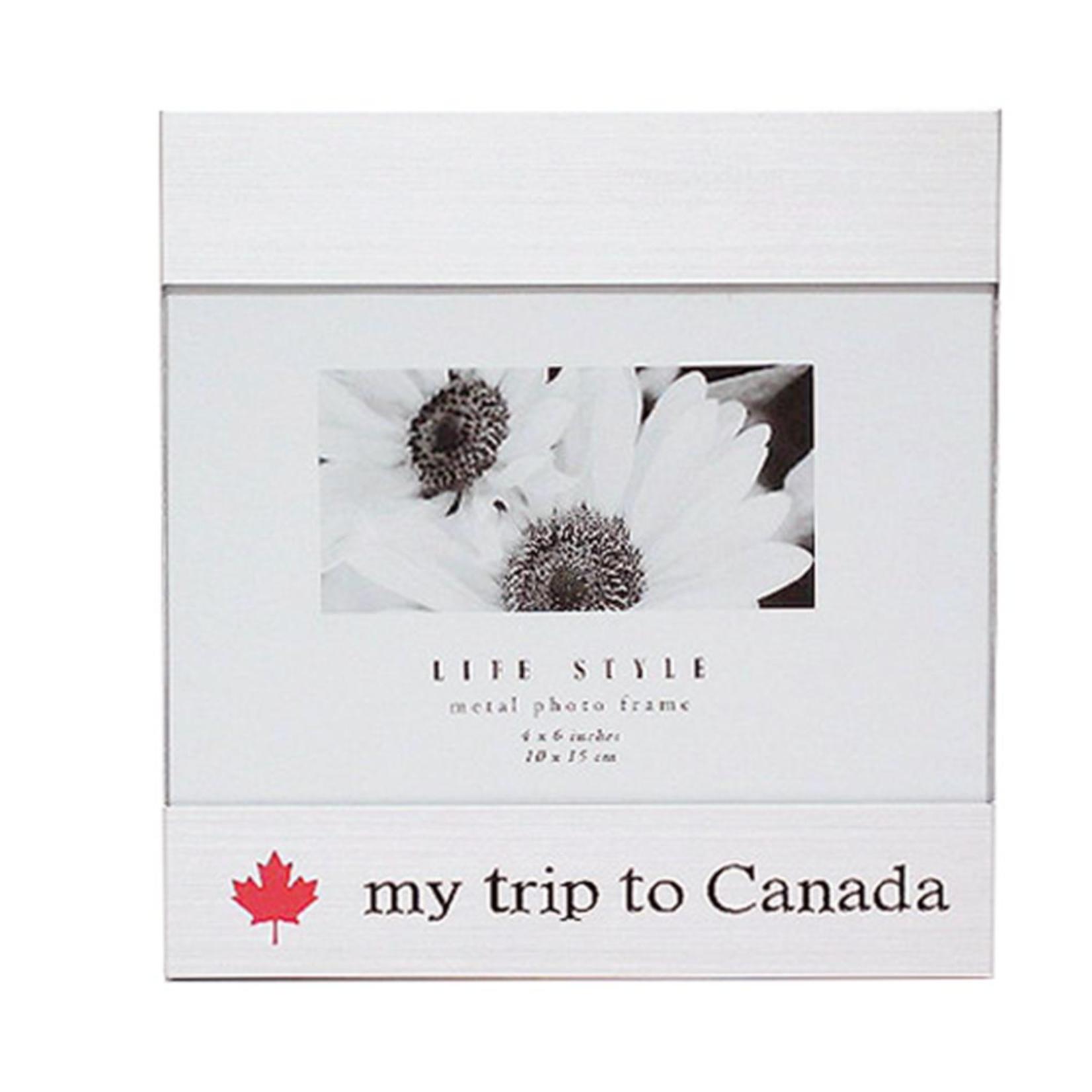 My trip to Canada frame