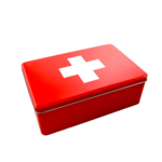 Tin Box Medical/ White