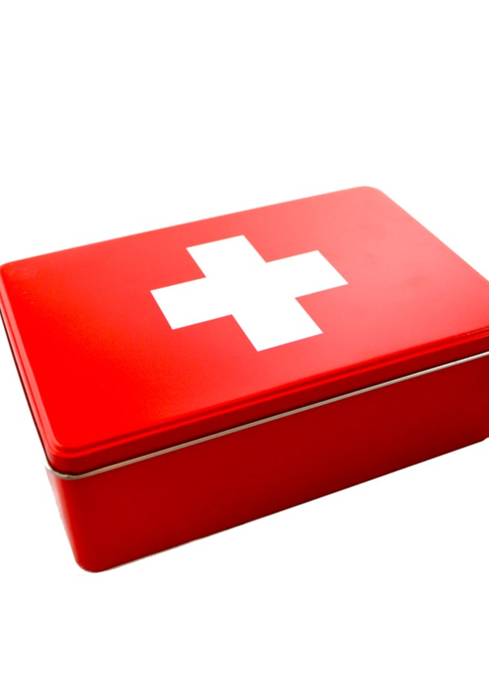 Tin Box Medical/ White