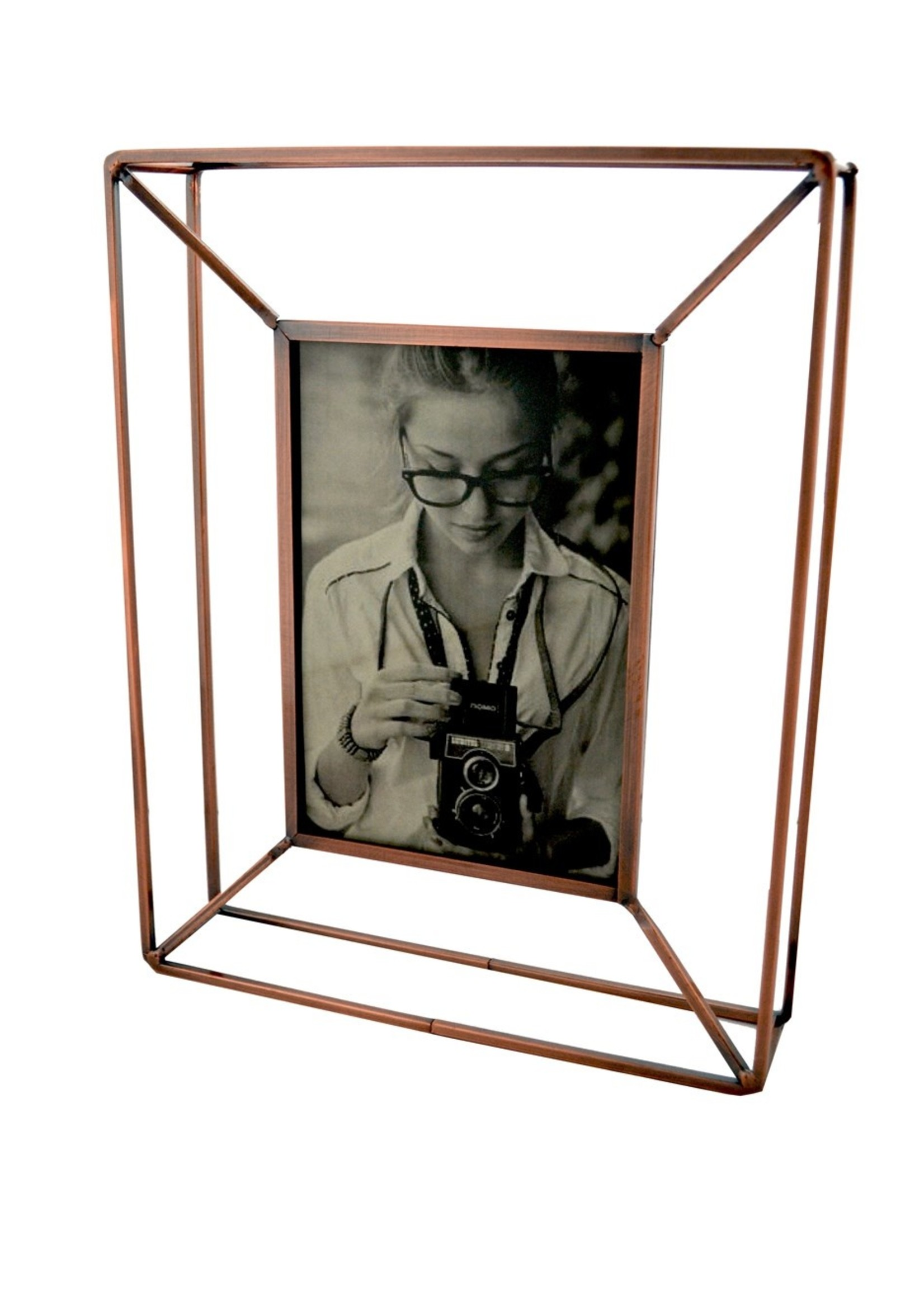 Floating Frame Rose Gold Small