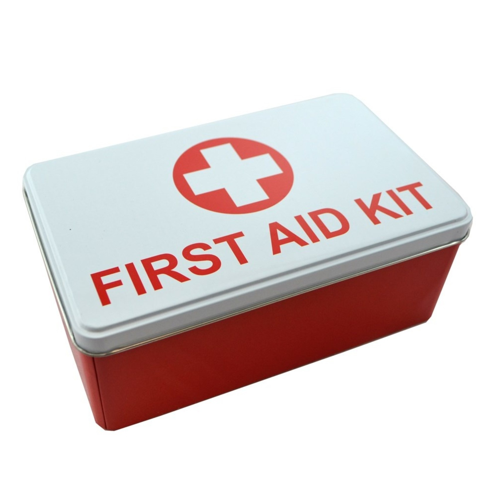 Tin Box Medical/ Red