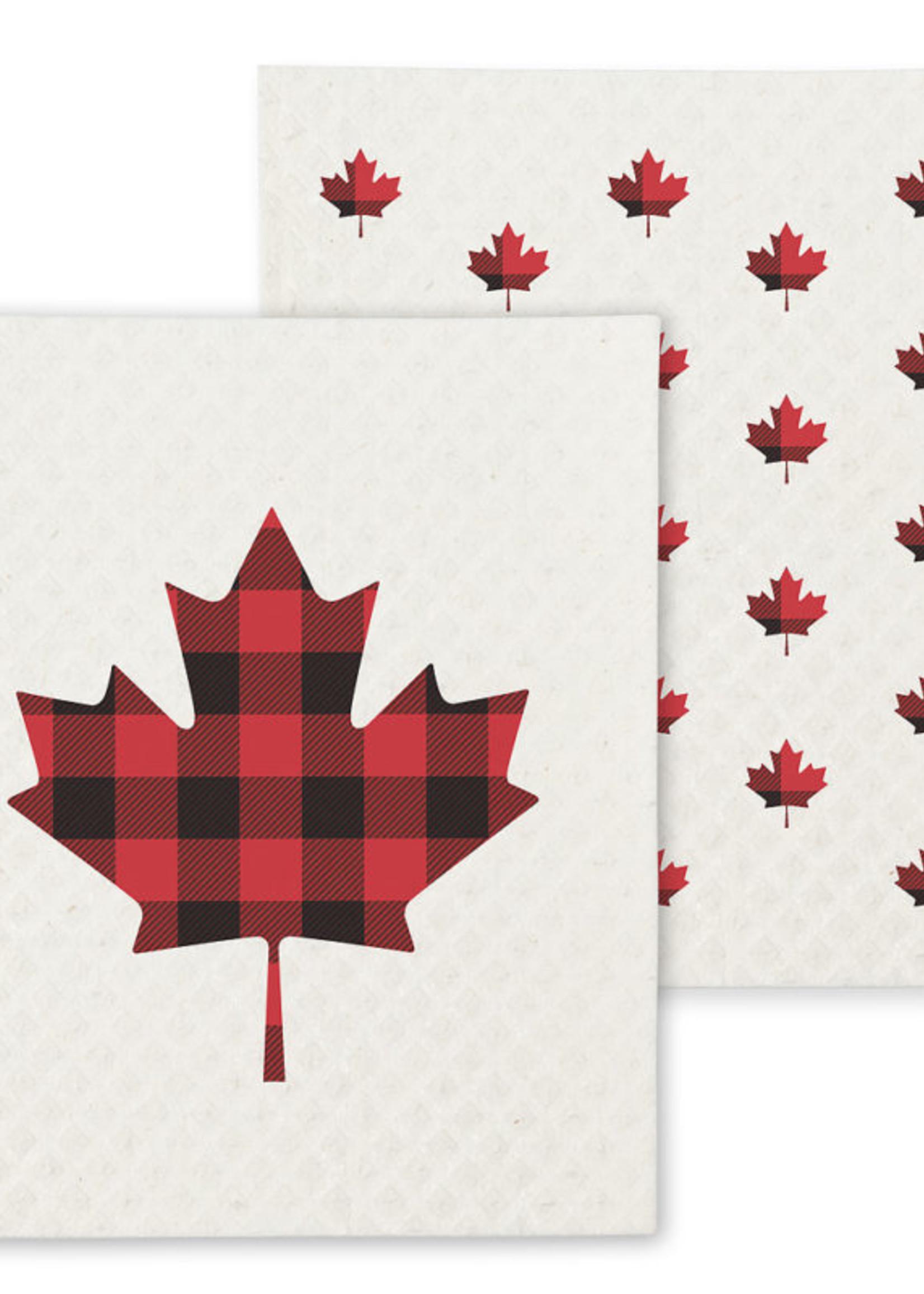 Maple Leaf Swedish Dish Cloth