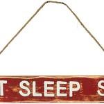 Eat, Sleep, Ski Cabin Sign