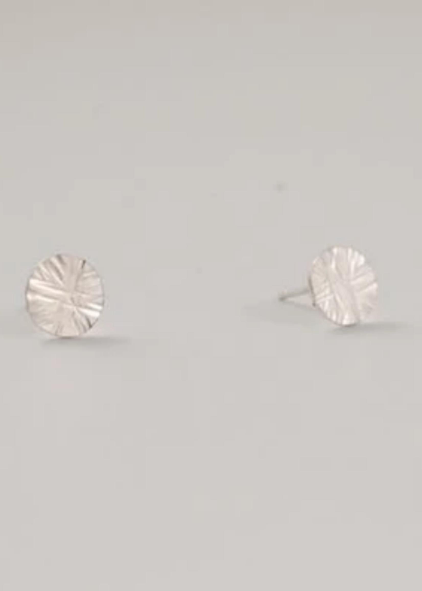 Devi Starburst earring silver